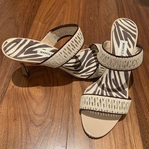 "Manolo Blahnik ""Angufac"" sandal heels"